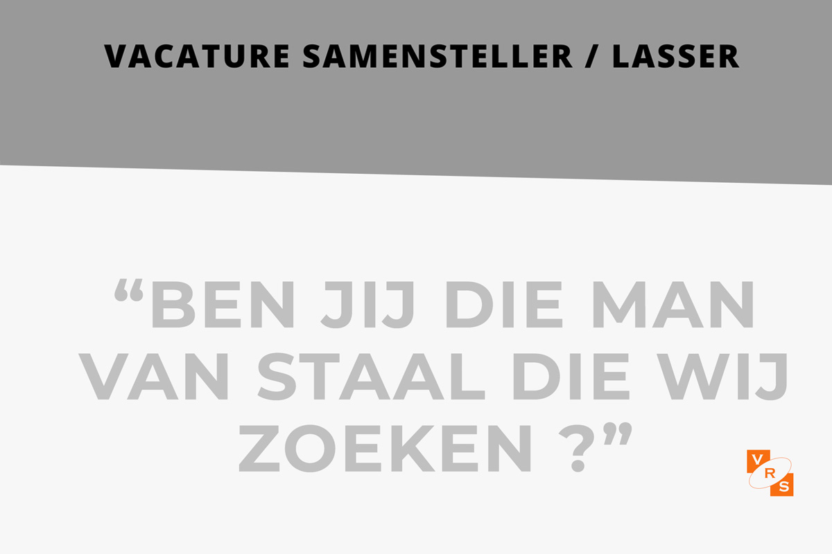 Vacature Samensteller-Lasser